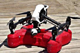 На испанском пляже появился дрон-спасатель