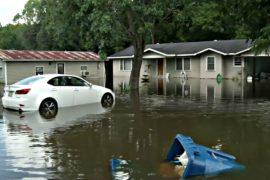 Жители Луизианы начали возвращаться в затопленные дома