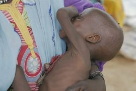 Озеро Чад: полмиллиона детей страдают от недоедания