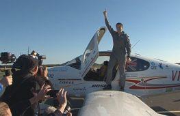 18-летний австралиец совершил кругосветку на самолёте