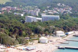 Отели и пансионаты с собственным пляжем