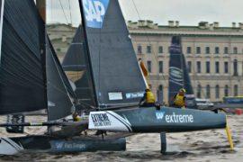 Санкт-Петербург: парусные гонки Extreme Sailing