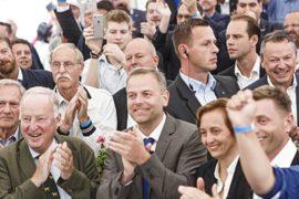 Антииммигрантская партия обошла партию Меркель