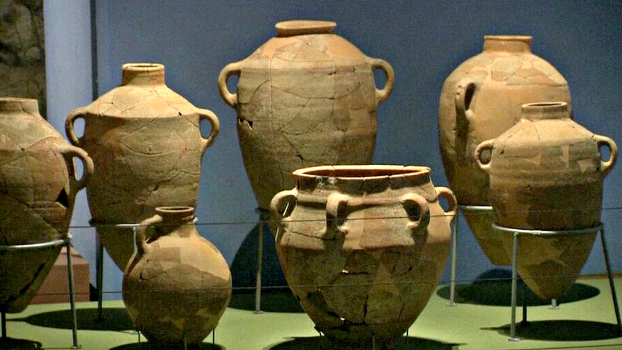 3000-летние артефакты представили в Израиле