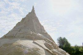 Песчаный замок не признали рекордом