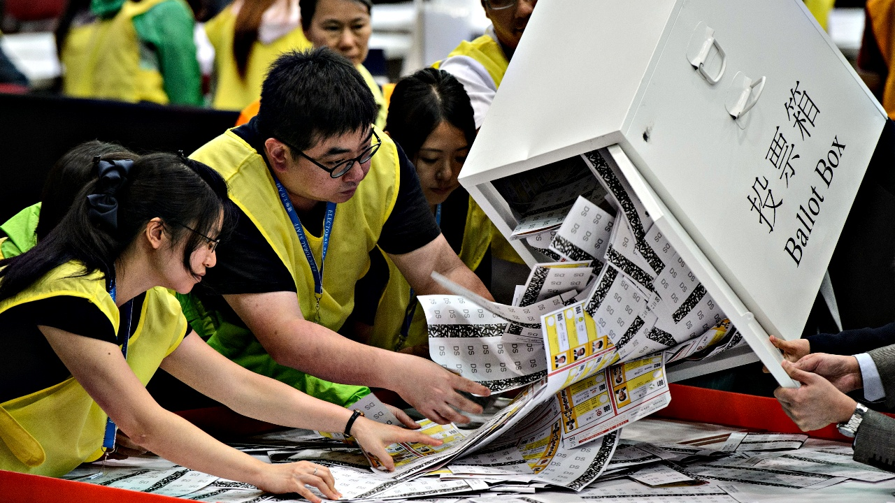 Выборы в Гонконге: в Совет пришла молодежь