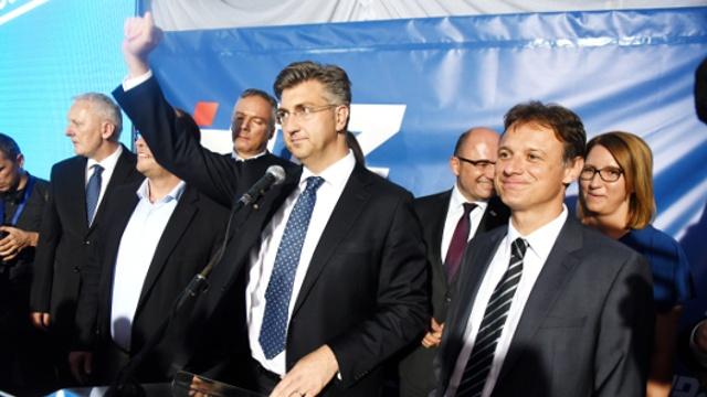На выборах в Хорватии победила правящая партия