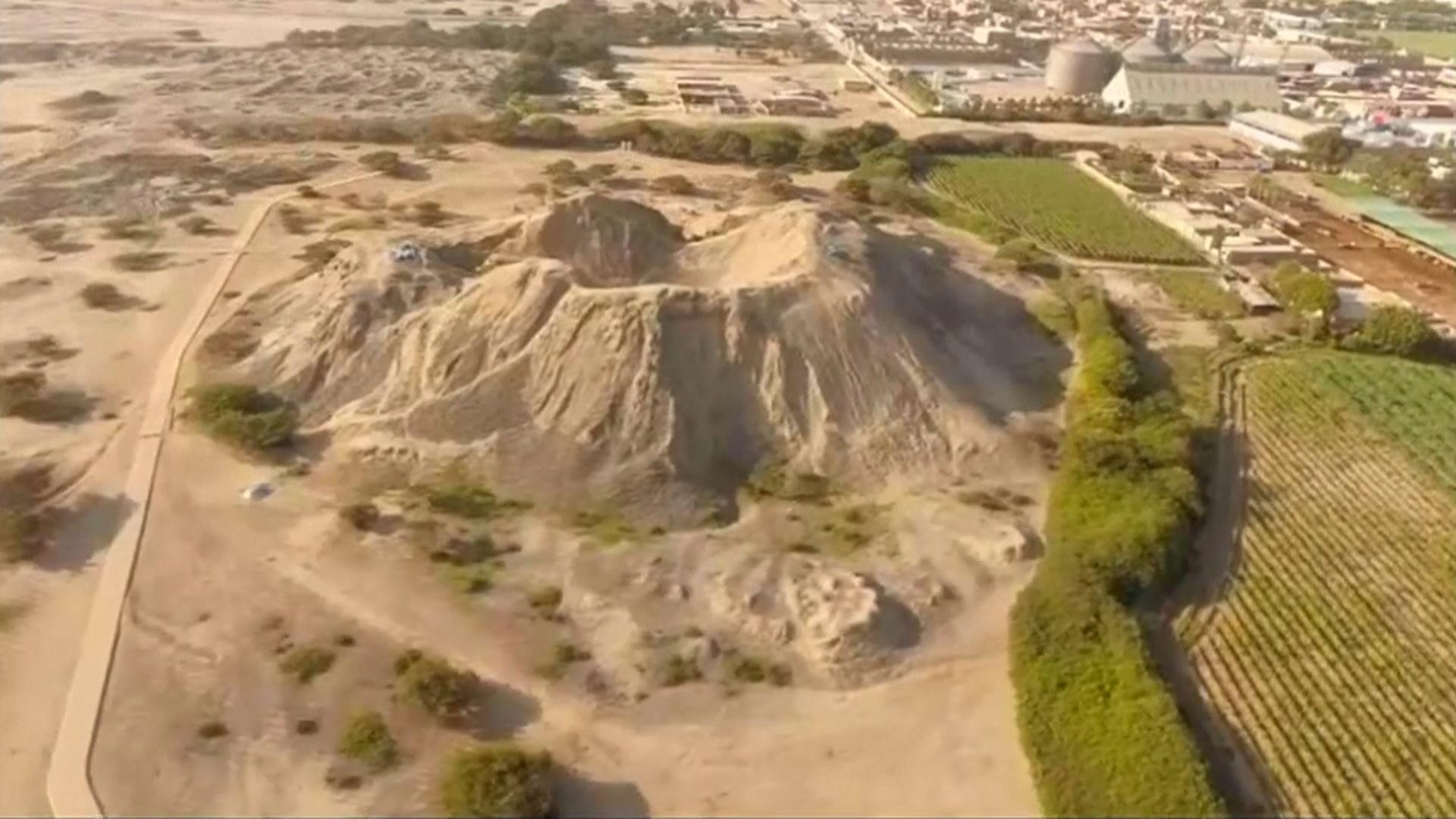 Археологи обнаружили на пирамиде в Перу древние ступени