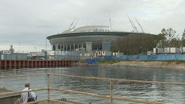 ФИФА проверила готовность стадиона в Санкт-Петербурге