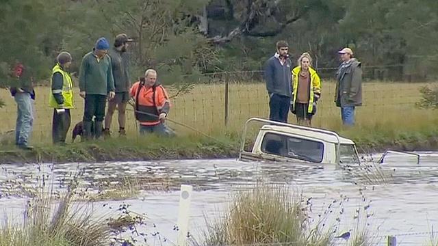 В Австралии начались наводнения
