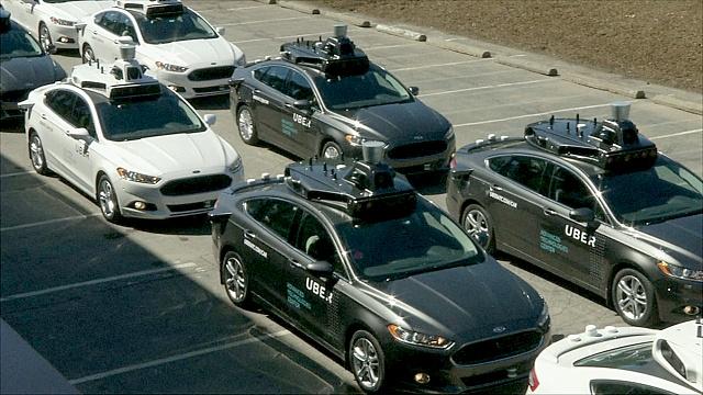Беспилотные такси Uber появились в Питтсбурге