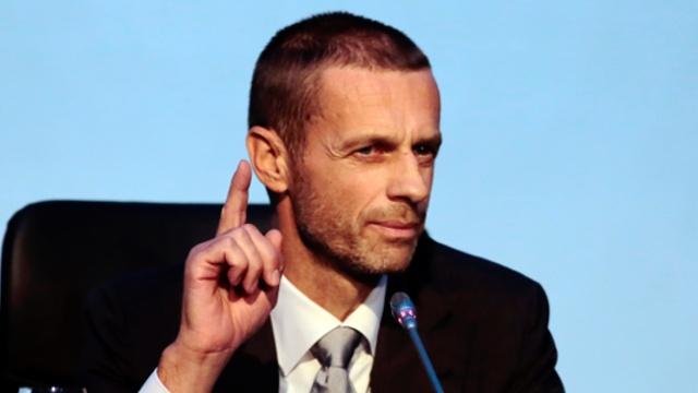 Президентом УЕФА избрали словенца Александера Чеферина