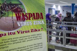 В аэропорту Джакарты защищаются от вируса Зика