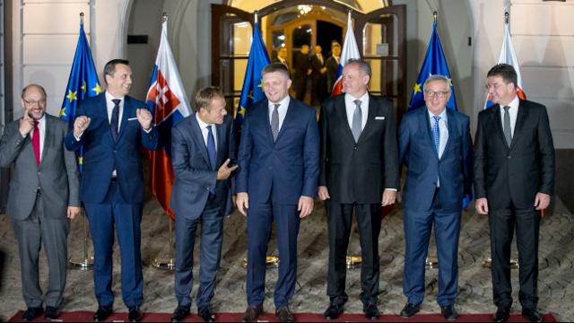 Братислава: начинается неформальный саммит ЕС