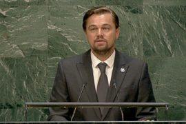 Дуглас и Ди Каприо отметили в ООН Международный день мира