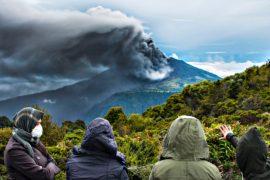 Туристы не могут улететь с Коста-Рики из-за вулкана