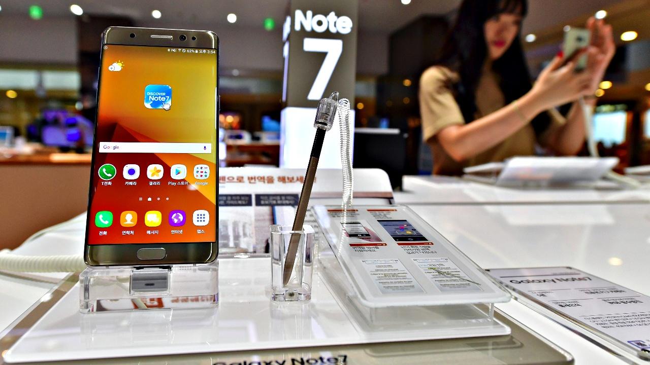 Южная Корея: Samsung начал замену бракованных Galaxy Note 7