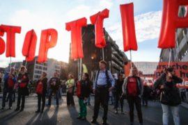 Брюссель: протест против зон свободной торговли
