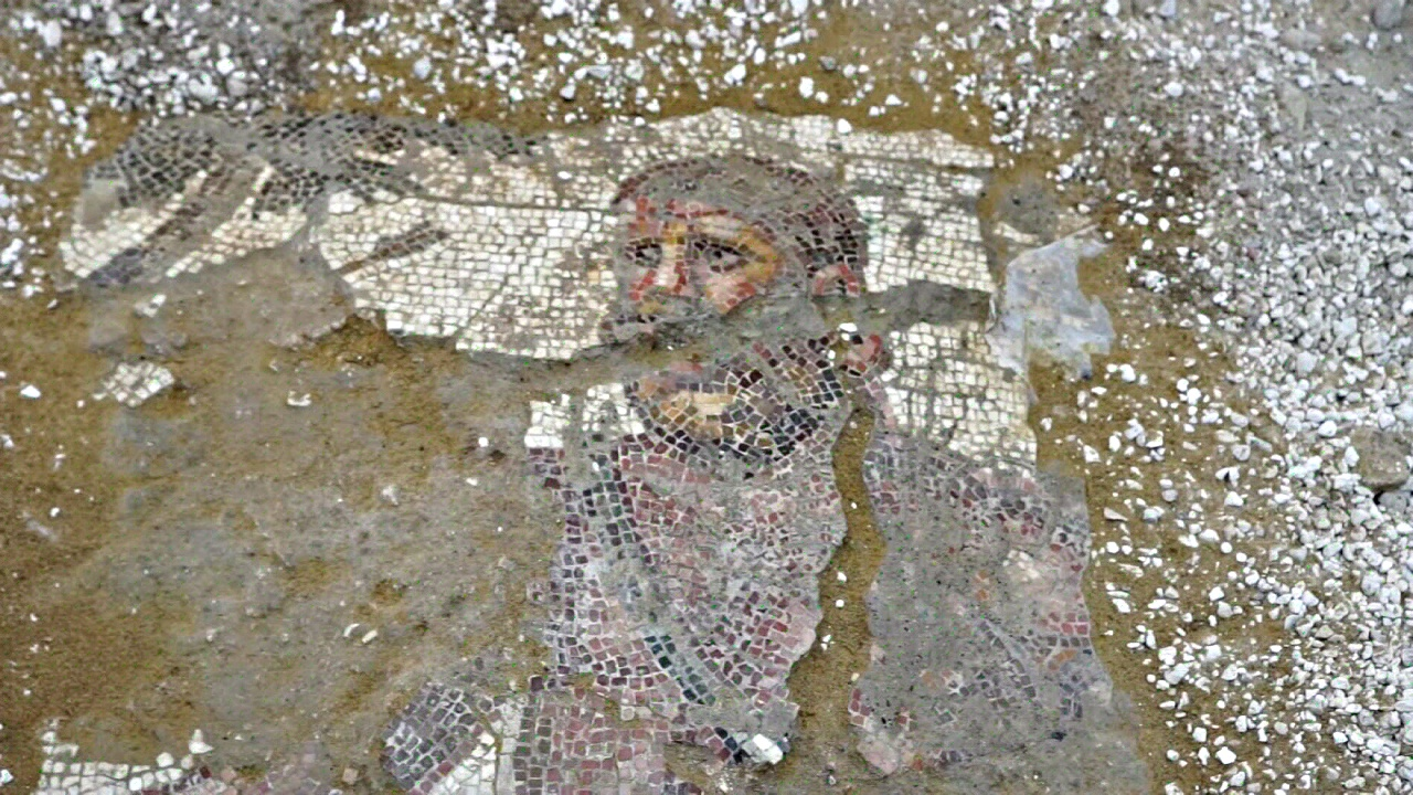 Мозаику римской эпохи раскапывают на Кипре