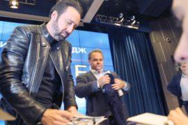 Николас Кейдж: звезда Голливуда впервые в Москве
