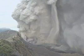 Турриальба напугал костариканцев 4-часовым извержением
