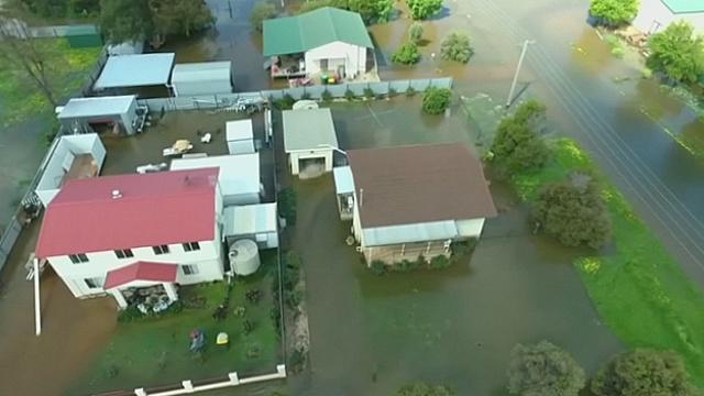 Наводнения в Австралии: страдает Новый Южный Уэльс