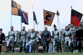 Зрелищный рыцарский турнир прошёл в Сиднее