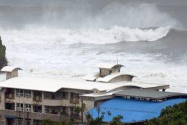Тайвань: третий тайфун за две недели