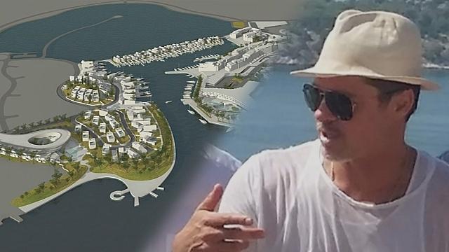 Построит ли Брэд Питт курорт в Хорватии после развода?