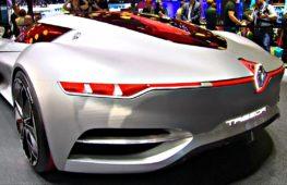 Суперкары будущего показали на автосалоне в Париже