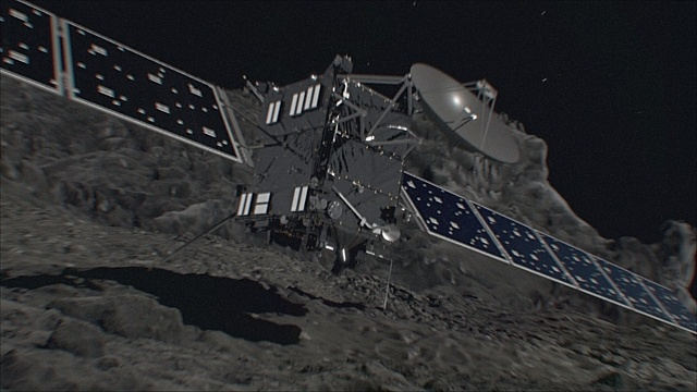 Космический зонд Rosetta столкнётся с кометой