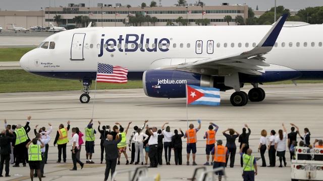 США – Куба: первый самолёт за 60 лет