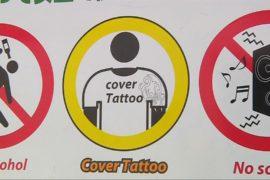 Япония: табу на татуировки сказывается на туристах