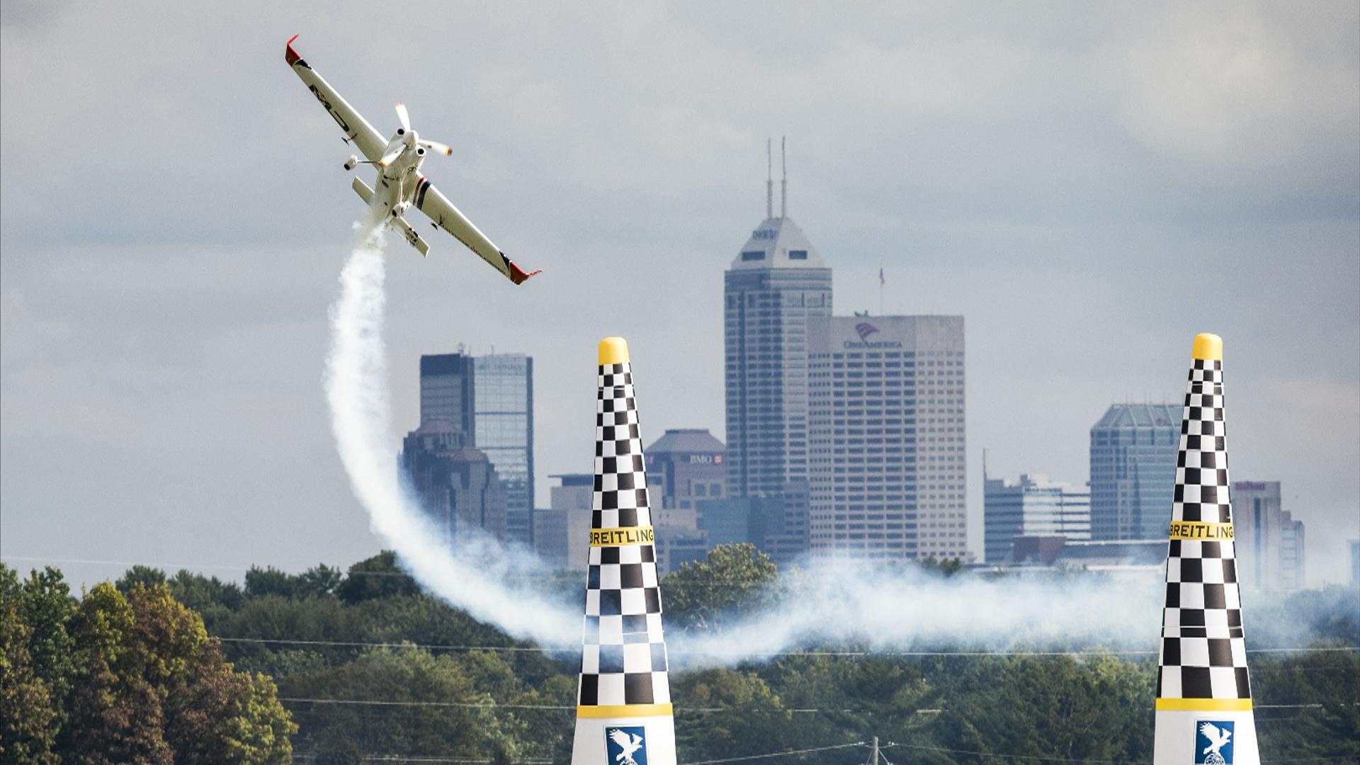 «Воздушная гонка»: победу в предпоследнем этапе одержал немец