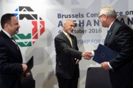 Помощь Афганистану обсуждают на конференции в Брюсселе