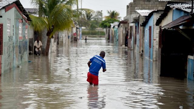 Гаити пострадала от урагана Мэтью