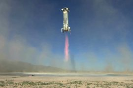 Blue Origin испытала капсулу для суборбитальных полётов