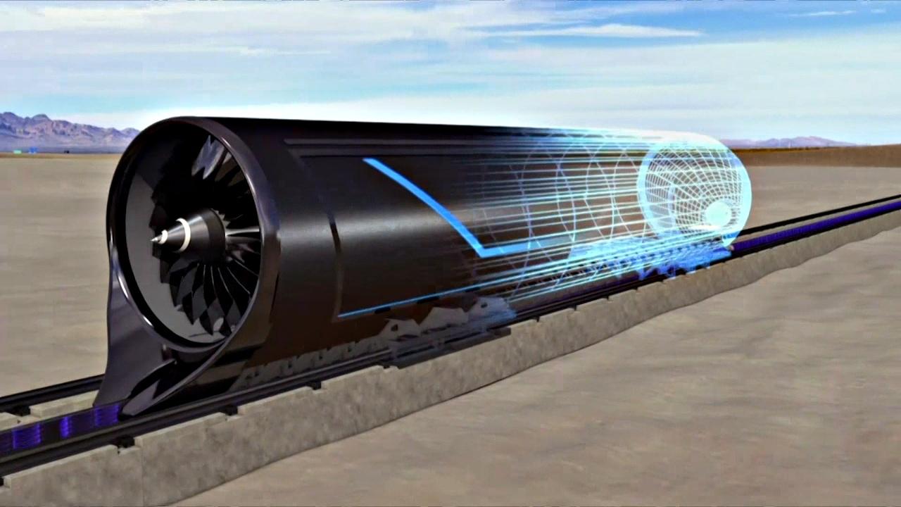 В ОАЭ планируют пустить вакуумные поезда Hyperloop