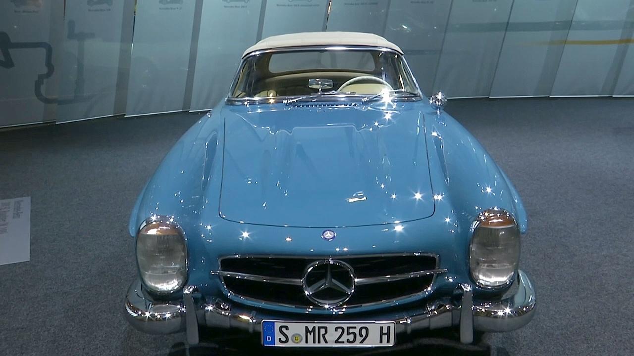 Выставка ретро-автомобилей в Берлине: роскошь и история
