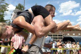Чемпионат по переноске жён прошёл в США