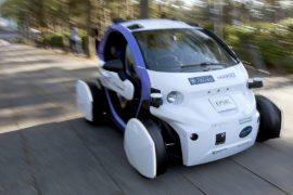 Беспилотное авто впервые вышло на улицы в Великобритании
