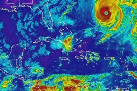 Урагану «Николь» присвоили четвёртую категорию