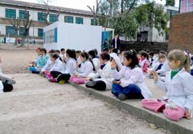Медитация помогает школьникам в учебе