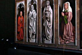 Внешний слой Гентского алтаря отреставрировали