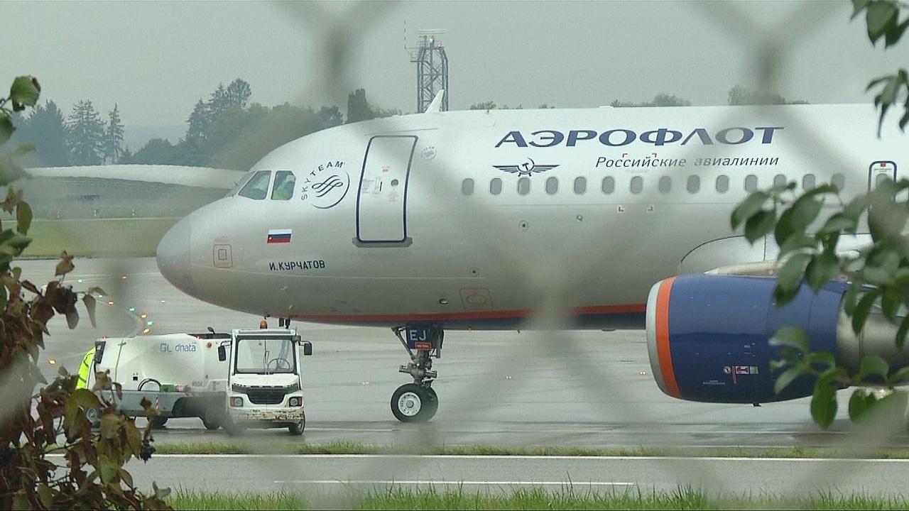 Россиянин в шутку «заминировал» самолёт в Женеве
