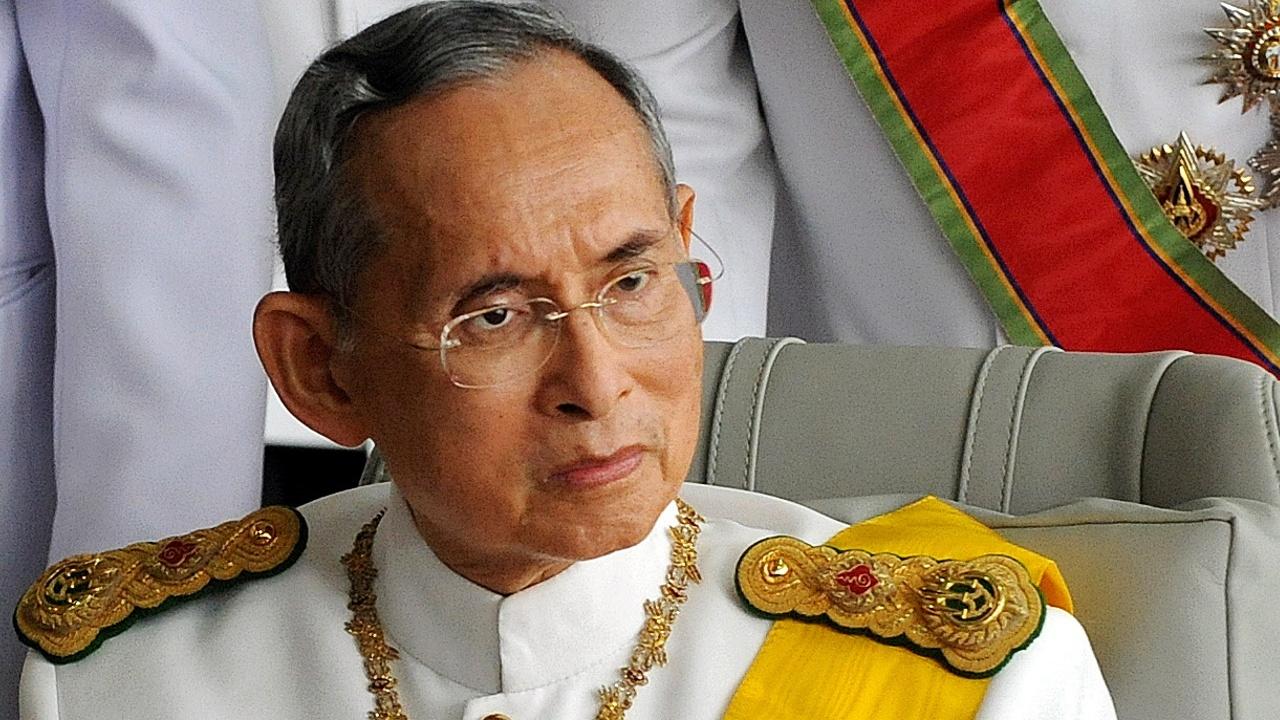 В Таиланде скончался 88-летний король Пхумипон Адульядет