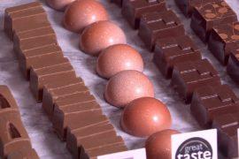 Шоколадная выставка в Лондоне: конфеты с дымком и вкусом карри