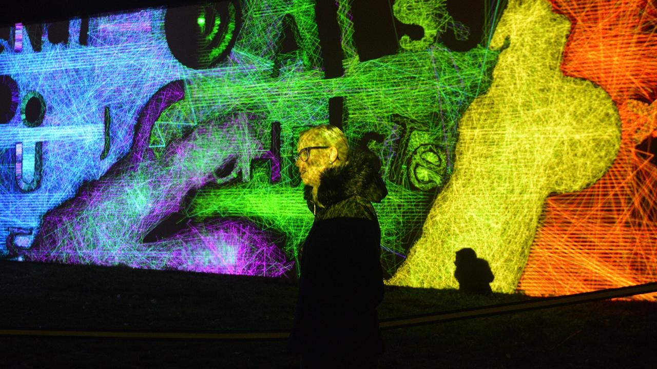 Прагу озарил международный фестиваль света