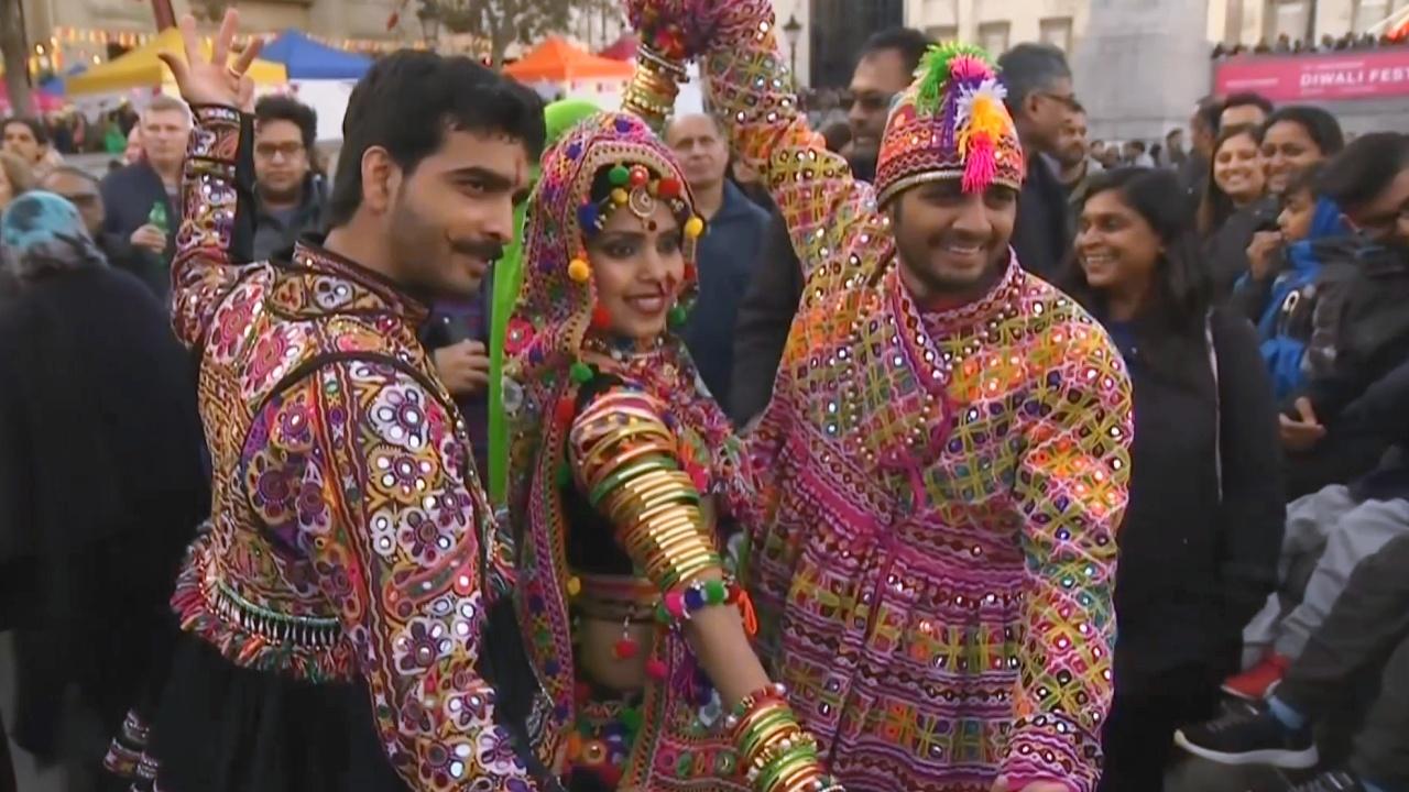В сердце Лондона празднуют Дивали