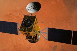 Модуль «Скиапарелли» начал спуск к Марсу